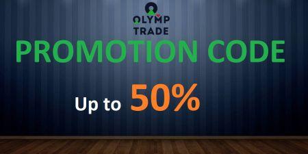 Código de promoción de Olymp Trade: hasta un 50% de bonificación